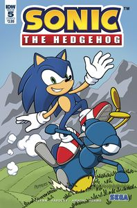 [Sonic The Hedgehog #5 (Cover B Gates) (Product Image)]