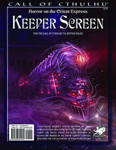 [Horror On The Orient Express: Keeper Screen (Product Image)]