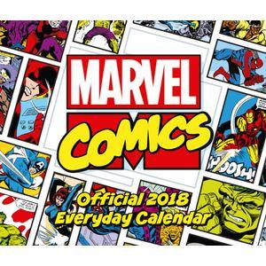[Marvel Comics: 2018 Desk Block Calendar (Product Image)]