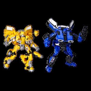 [Transformers: Buzzworthy Bumblebee: Studio Series Action Figure: Bumblebee Vs Dropkick (Battle Pack) (Product Image)]