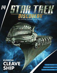 [Star Trek: Discovery: Figure Magazine #14: Klingon Cleave Ship (Product Image)]