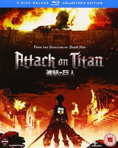 [Attack On Titan: Part 1: Collector's Edition (Blu-Ray) (Product Image)]