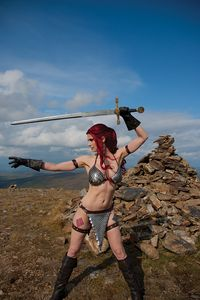 [Red Sonja #19 (Cover E Decobray Cosplay Variant (Product Image)]