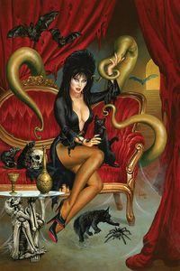 [Elvira: Mistress Of Dark #8 (Jusko Virgin Variant) (Product Image)]