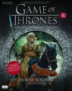 [Game Of Thrones: Model Figure Collection Magazine #50 Dorne Soldier (Product Image)]