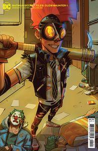 [Batman: Secret Files: Clownhunter #1 (Kofi Ofosu Cardstock Variant) (Product Image)]