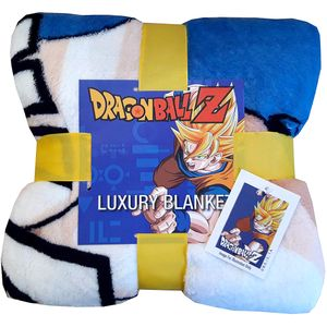 [Dragon Ball Z: Coral Fleece Blanket: Battle (Product Image)]