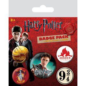 [Harry Potter: Badge Pack: Gryffindor Badge (Product Image)]