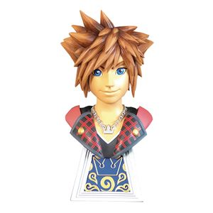 [Kingdom Hearts 3: Legends In 3D 1:2 Scale Bust: Sora (Product Image)]