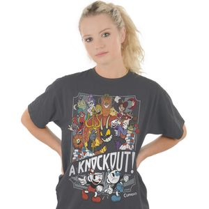 [Cuphead: T-Shirt: It's A Knockout! (Product Image)]