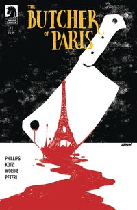 [The cover for Butcher Of Paris #1]