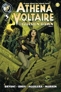 [Athena Voltaire: 2018 Ongoing #5 (Cover B Johnson) (Product Image)]
