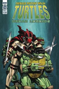 [Teenage Mutant Ninja Turtles: Urban Legends #24 (Cover A Fosco) (Product Image)]