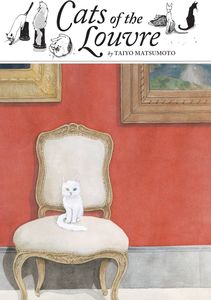[Cats Of The Louvre (Hardcover) (Product Image)]