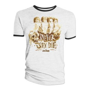 [The Goonies: T-Shirt: Never Say Die! (Product Image)]