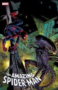 [Amazing Spider-Man #56 (Bagley Marvel Vs Alien Variant) (Product Image)]