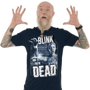 [Doctor Who: T-Shirt: Blink & You're Dead (Product Image)]