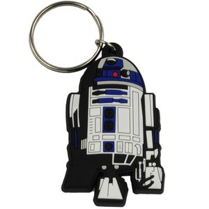 [Star Wars: Rubber Keychain: R2-D2 (Product Image)]