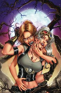 [Van Helsing Vs Draculas Daughter #4 (Cover B Riveiro) (Product Image)]