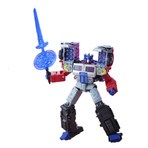 [Transformers: Generations: Legacy Action Figure: Laser Optimus Prime (Product Image)]