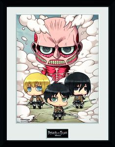 [Attack On Titan: Print: Chibi Group (Product Image)]