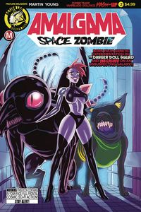 [The cover for Amalgama: Space Zombie #2 (Cover A Young)]