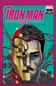 [Iron Man: 2020 #3 (Superlog Heads Variant) (Product Image)]