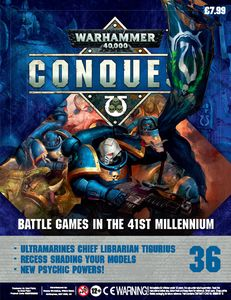 [Warhammer 40K: Conquest: Figurine Collection #36 (Product Image)]