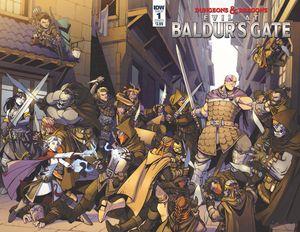 [Dungeons & Dragons: Evil At Baldurs Gate #1 (Cover A Dunbar) (Product Image)]