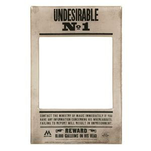 [Harry Potter: Photo Magnet: Undesirable No 1 (Product Image)]