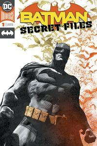 [Batman: Secret Files #1 (Foil Signed Edition) (Product Image)]