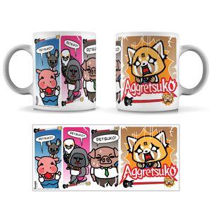 [Aggretsuko: Mug: Fury O'Meter (Product Image)]