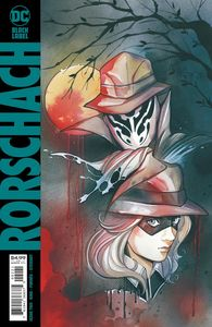 [Rorschach #2 (Peach Momoko Card Stock Variant) (Product Image)]