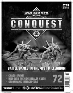 [Warhammer 40K: Conquest: Figurine Collection #72 (Product Image)]