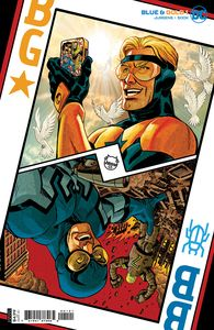 [Blue & Gold #1 (Dave Johnson Cardstock Variant) (Product Image)]