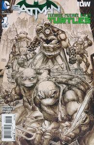 [Batman/Teenage Mutant Ninja Turtles #1 (3rd Printing) (Product Image)]