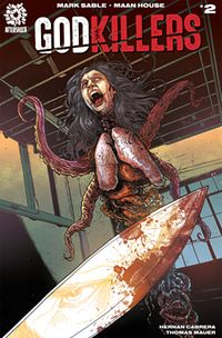 [The cover for Godkillers #2 (Cover A Haun)]