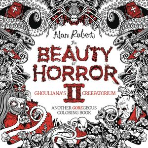 [The Beauty Of Horror II: Goregeous Coloring Book: Volume 2 (Product Image)]