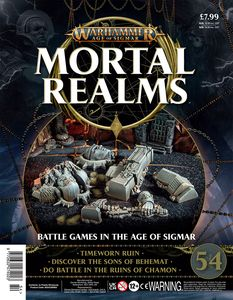 [Warhammer: Age Of Sigmar: Mortal Realms #54 (Product Image)]