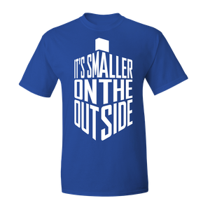 [Doctor Who: T-Shirt: Smaller On The Outside (Product Image)]