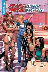 [Red Sonja & Vampirella Meet Betty & Veronica #11 (Cover C Braga) (Product Image)]