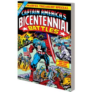 [Captain America: Bicentennial Battles (New Treasury Edition) (Product Image)]