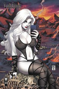 [Lady Death: Malevolent Decimation #1 (Selfie Cover) (Product Image)]