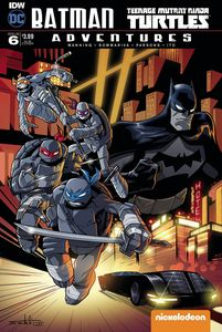 [Batman/Teenage Mutant Ninja Turtles Adventures #6 (Subscription Variant) (Product Image)]