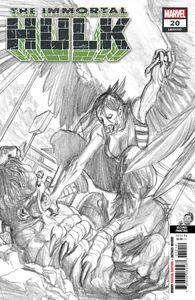 [Immortal Hulk #20 (2nd Printing Alex Ross Variant) (Product Image)]