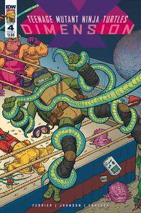 [Teenage Mutant Ninja Turtles: Dimension X #4 (Cover A Pitarra) (Product Image)]