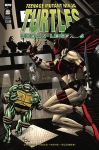 [Teenage Mutant Ninja Turtles: Urban Legends #22 (Cover A Fosco) (Product Image)]