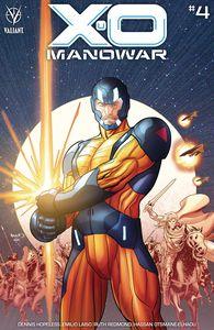 [X-O Manowar (2020) #4 (Cover B Renaud) (Product Image)]