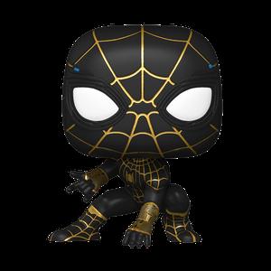 [Spider-Man: No Way Home: Pop! Vinyl Figure: Spider-Man (Black & Gold Suit) (Product Image)]