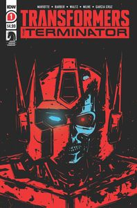 [Transformers Vs Terminator #1 (2nd Printing) (Product Image)]